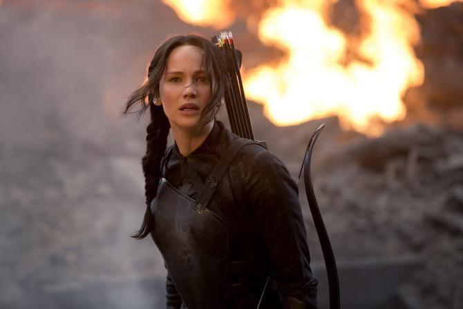 Katniss Everdeen (Jennifer Lawrence) en una escena del filme The Hunger Games (MCT/MURRAY CLOSE)