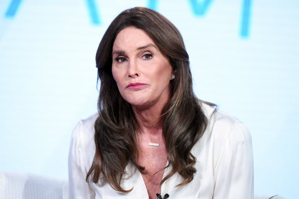 """Caitlyn Jenner participates in E!'s """"I Am Cait"""" panel at the NBCUniversal Winter TCA on Thursday, Jan. 14, 2016, in Pasadena, Calif. (Photo by Richard Shotwell/Invision/AP)"""
