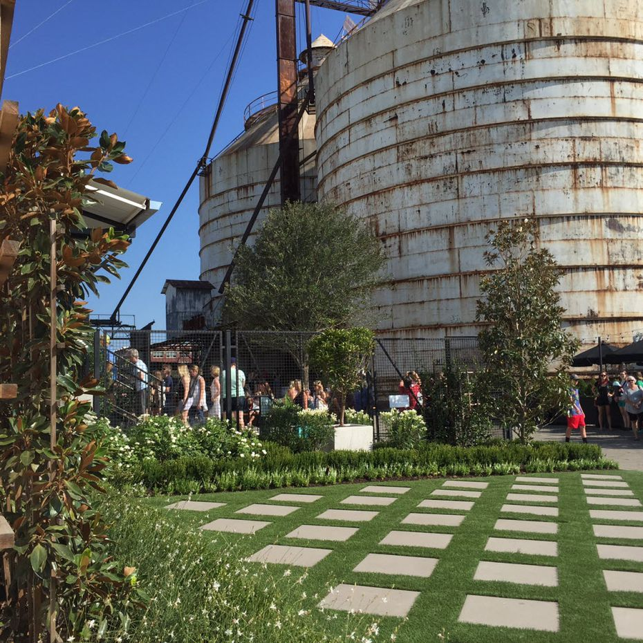 A view of the new entrance at Magnolia Market at the Silos in Waco