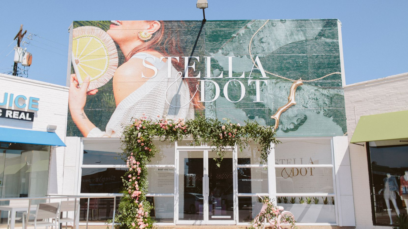 Stella & Dot will be open through April 20 at the 3010 N. Henderson in Dallas.