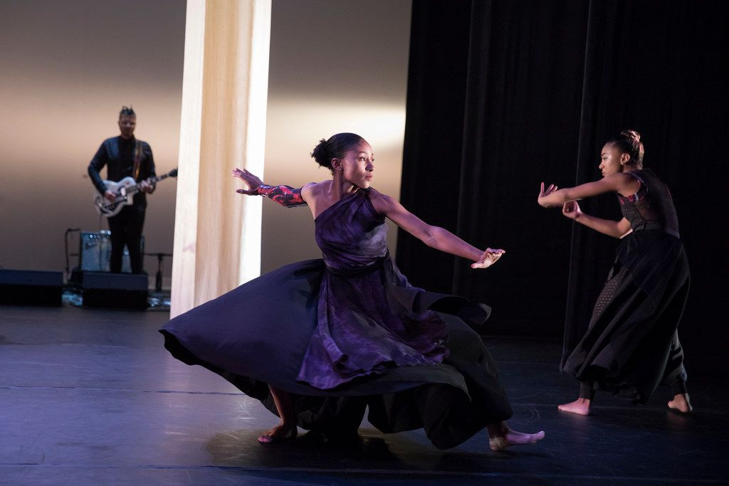 Ronald K. Brown's Evidence: A Dance Company perform his new piece Mercy, a companion to his seminal 1999 work Grace.