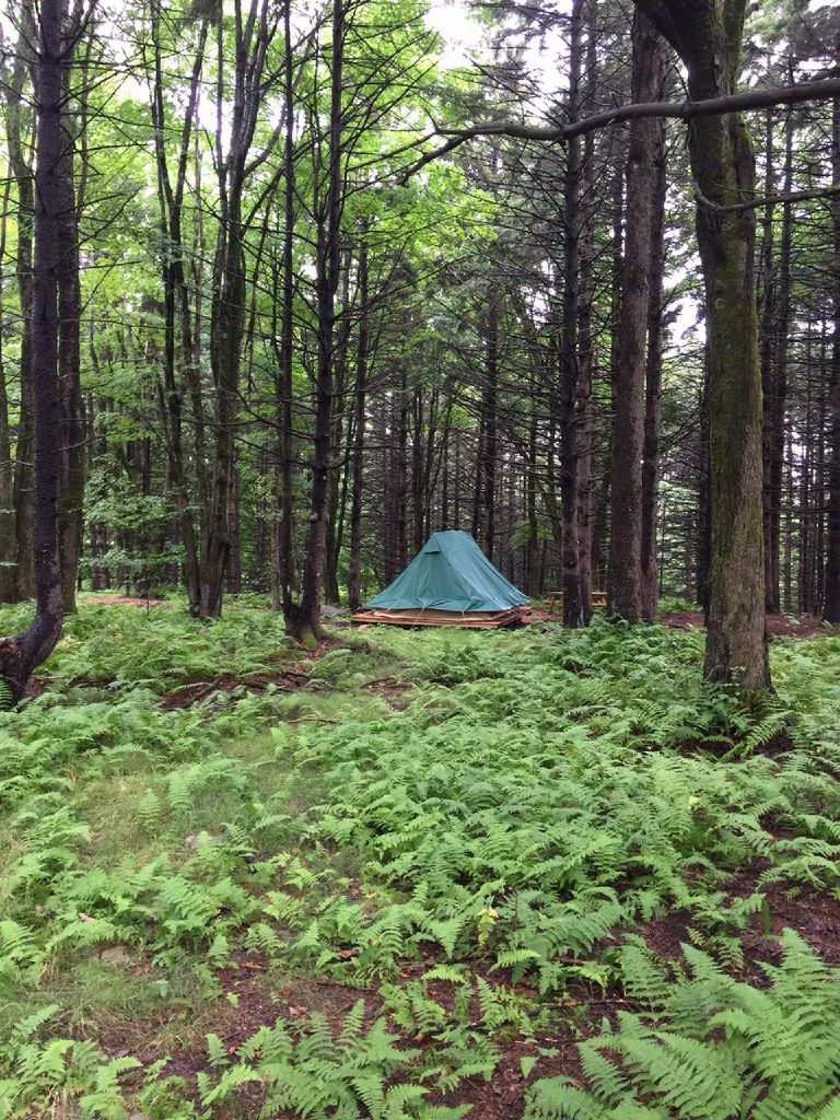 """Go tent """"glamping"""" in a forest with Huttopia in Quebec"""