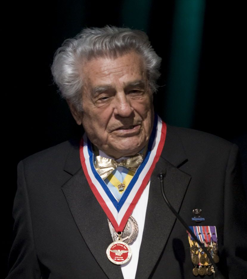 Members of the Texas congressional delegation are pushing to recognize retired Army Lt. Col. James Megellas with the Medal of Honor.  The World War II veteran, a resident of Colleyville, is the most decorated officer in the history of the prestigious 82nd Airborne Division.