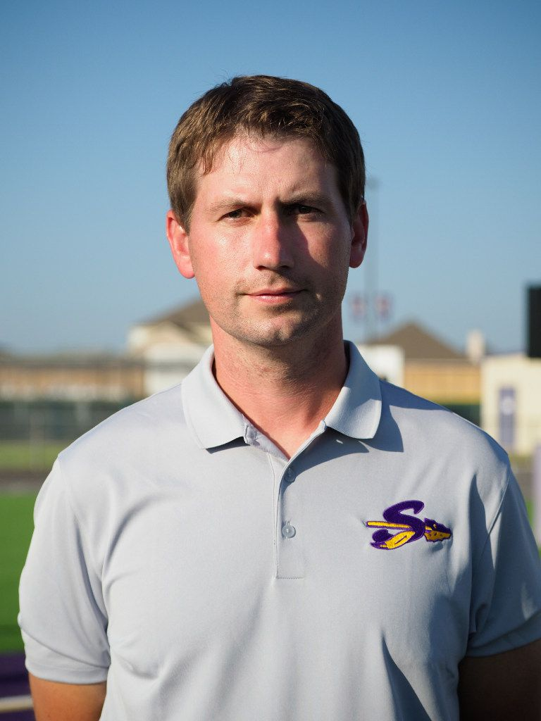 Sanger Football head coach Cole Ford, Saturday, August 19, 2017, in Sanger, Texas, Jeff Woo/DRC
