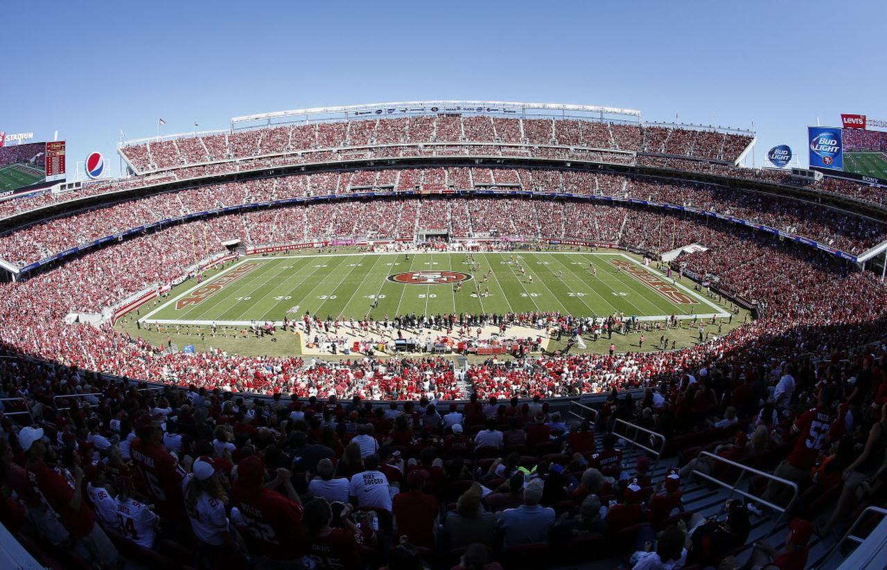 El Levi's Stadium es la casa de los 49ers de San Francisco. (AP/TONY AVELAR)