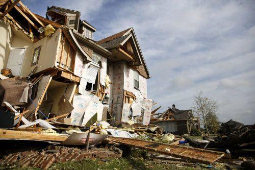 Rockwall fue la ciudad más afectada por el temporal de la noche del miércoles. DMN