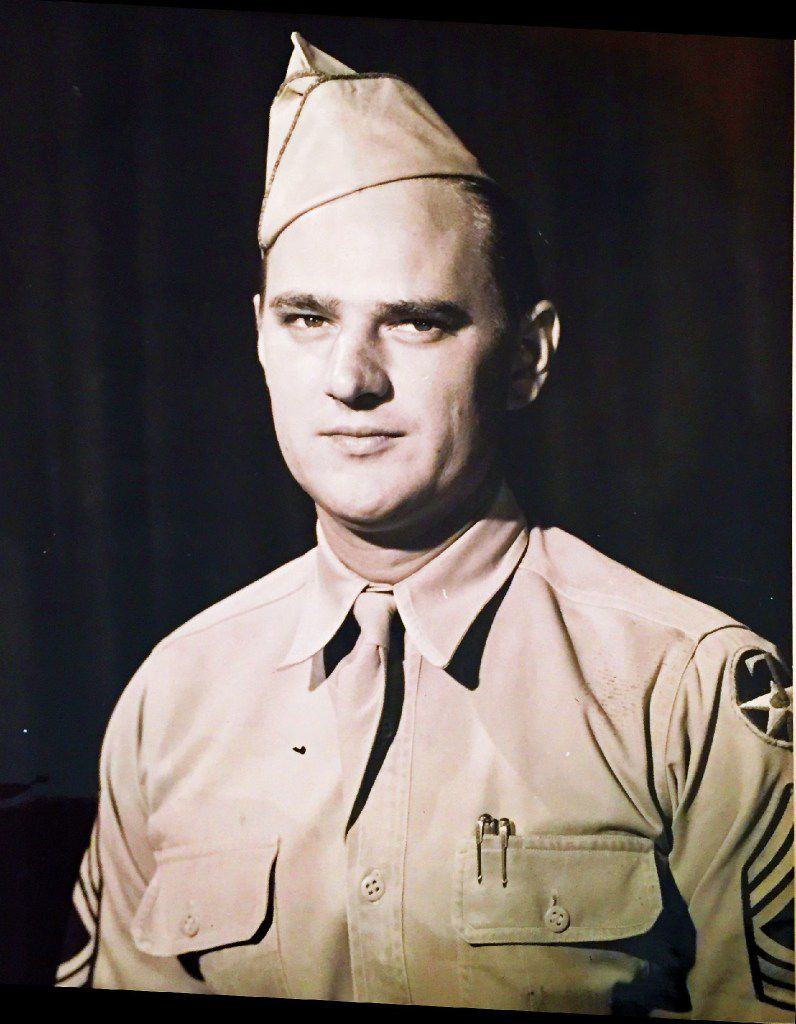 Robert Tanner enlisted in the Army Air Corps when he was 17 years old.