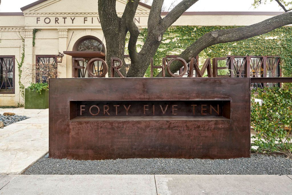 Forty Five Ten's store converted to a home store after the Downtown Dallas store opened in 2016. The home store closed in July 2018.
