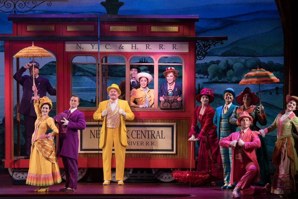 The sumptuous sets helped convince Betty Buckley to take the title role in the national touring production of Hello, Dolly!