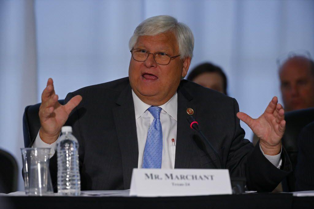 United States Congressman Kenny Marchant.