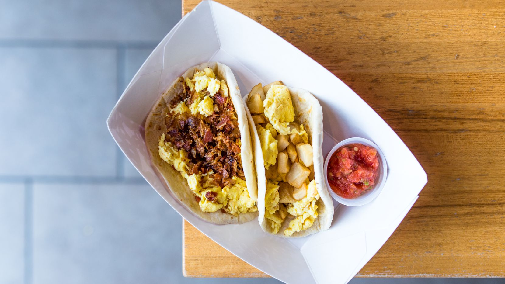 Taco Cabana and the Favor delivery app will deliver free breakfast tacos in Dallas on Feb. 15.