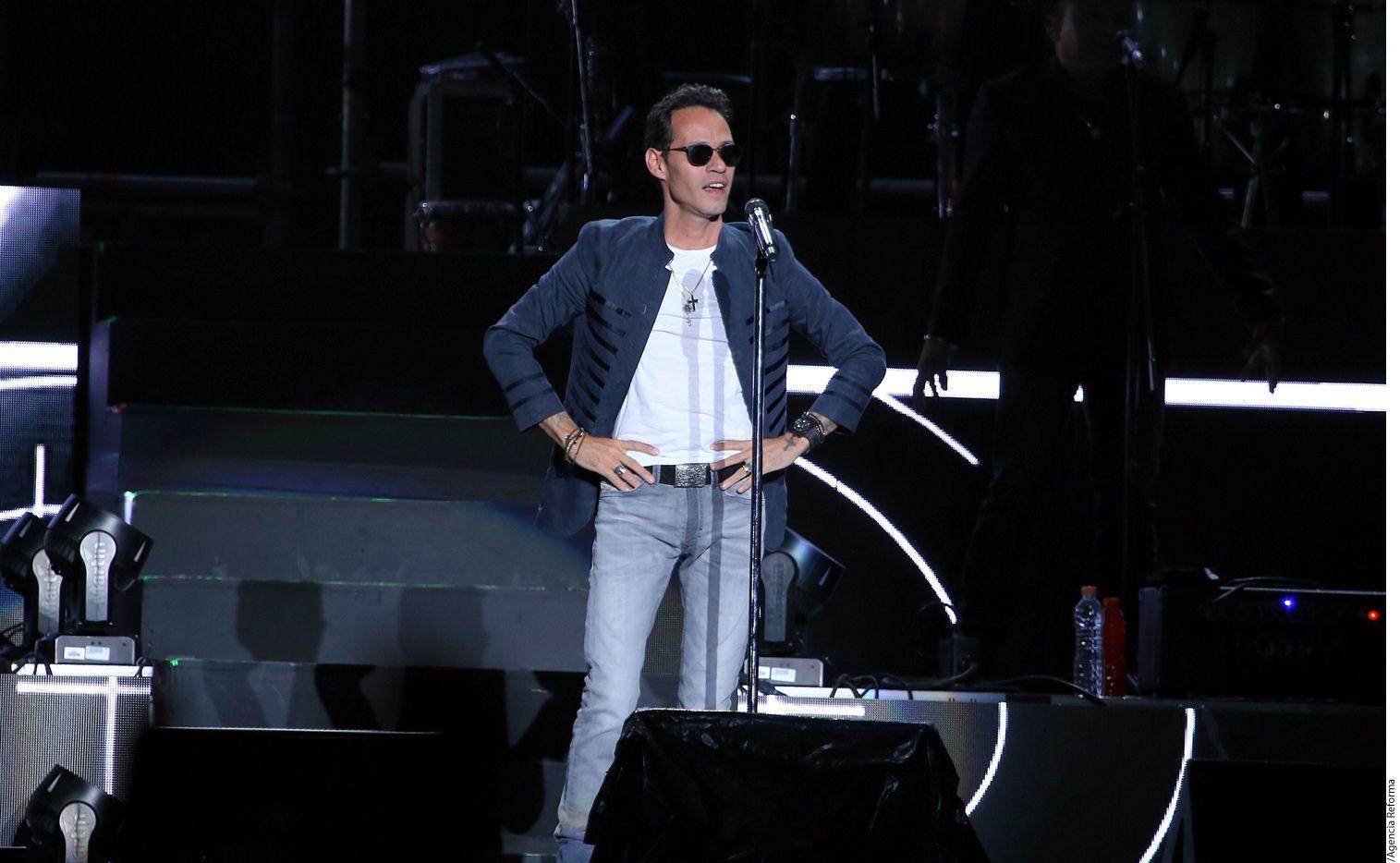 El cantante Marc Anthony. (AGENCIA REFORMA)