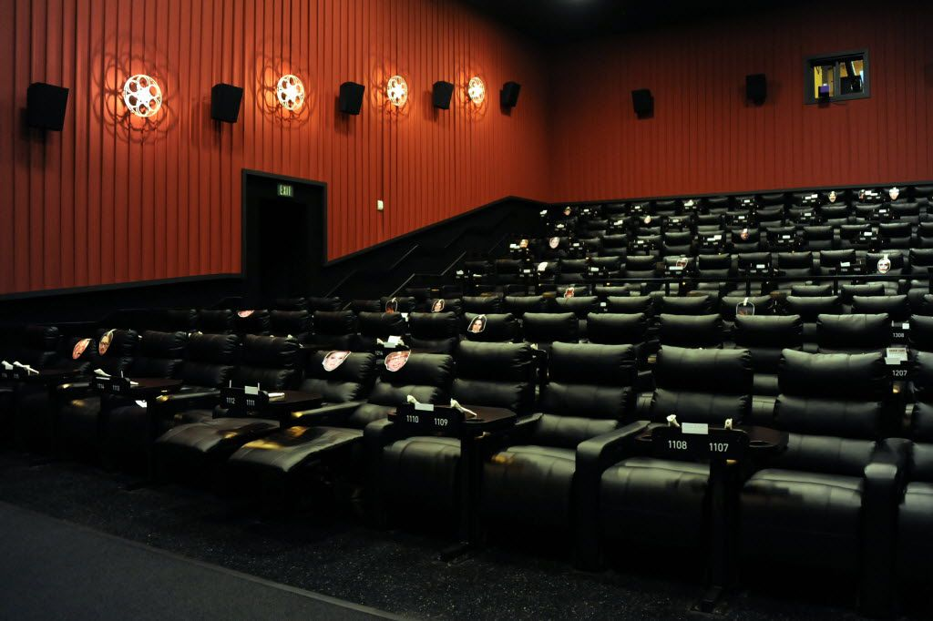 The larger theaters seat 153 guests at Alamo Drafthouse Cinema in the Cedars.
