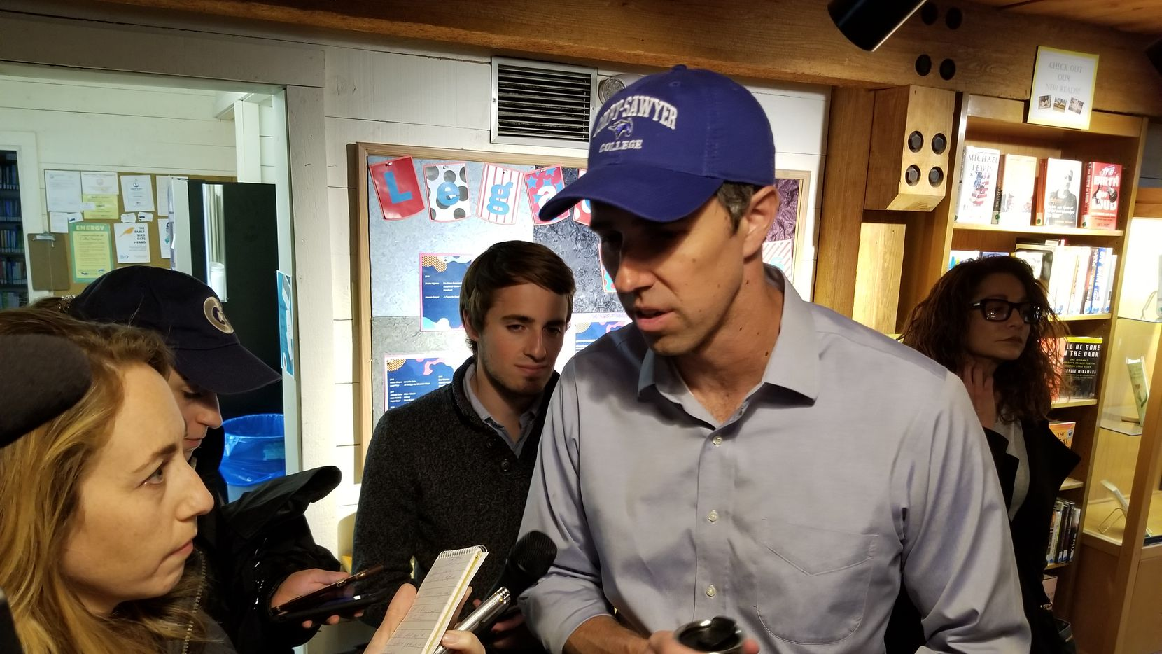 Former El Paso Representative Beto O'Rourke's campaign for the Democratic nomination for president has taken a hit with former Vice President Joe Biden's entrance in the race.