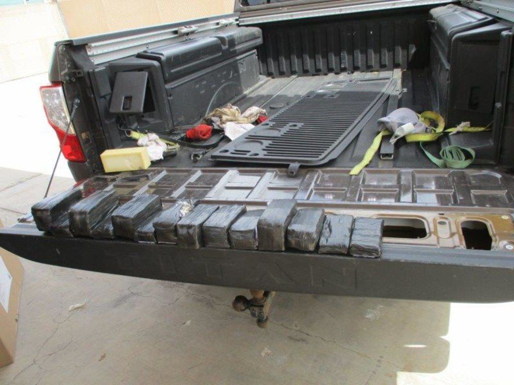 CBP officers discovered more than $170,000 worth of unreported currency hidden within the tailgate of a truck in Presidio.