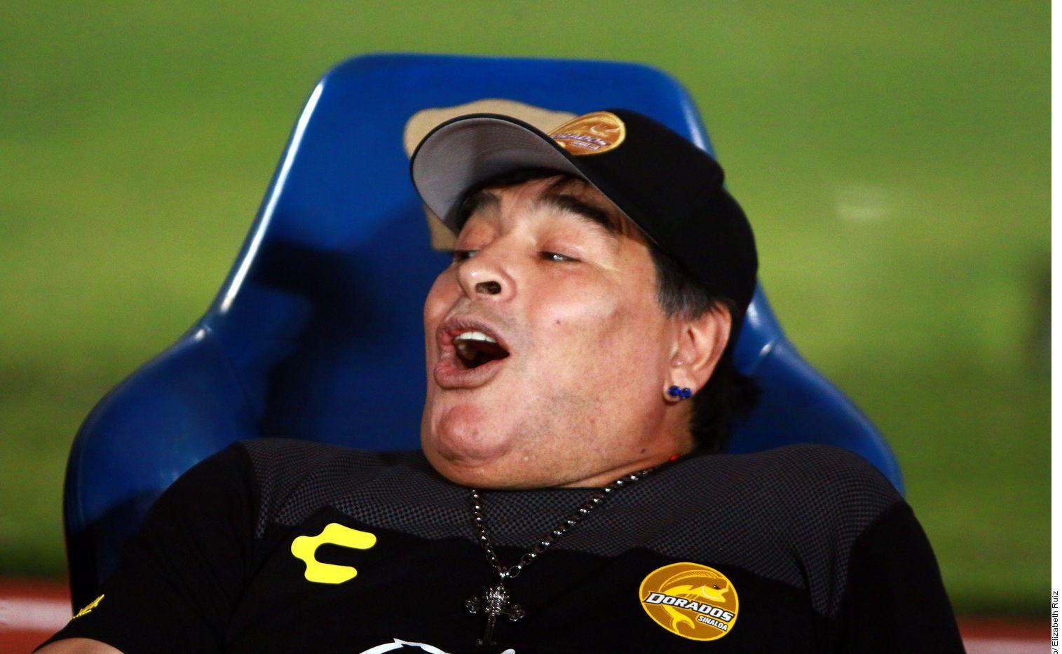 Diego Maradona, a un paso de convertirse en nuevo técnico de Gimnasia La Plata, último de la liga argentina