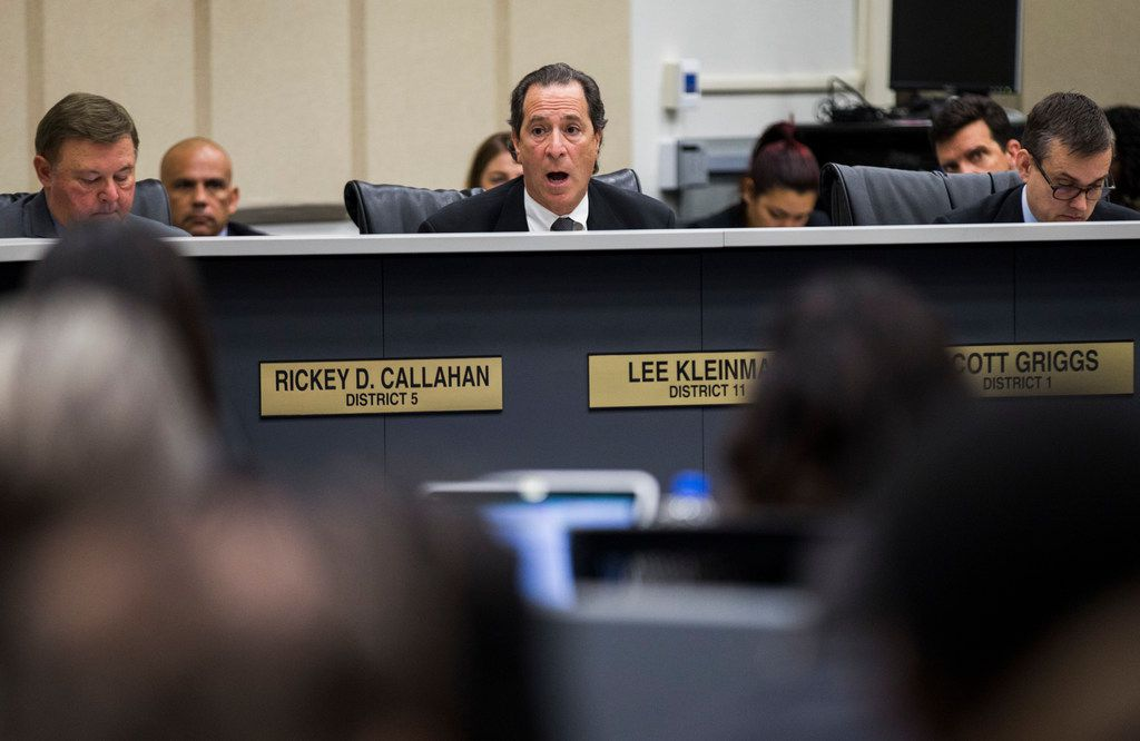 "Dallas City Council member Lee Kleinman said it would be a ""waste of money"" if President Donald Trump diverts flood control money toward building a border wall."