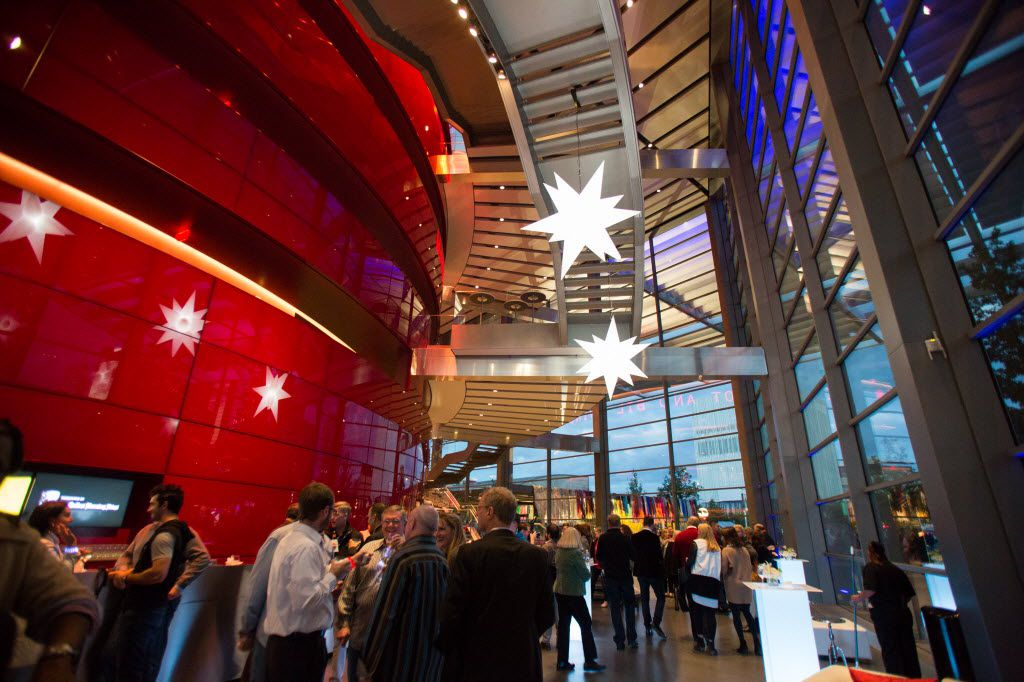 The VIP reception at Winspear Opera House to celebrate  Aurora 2013 in Dallas on Friday, October 18, 2013.