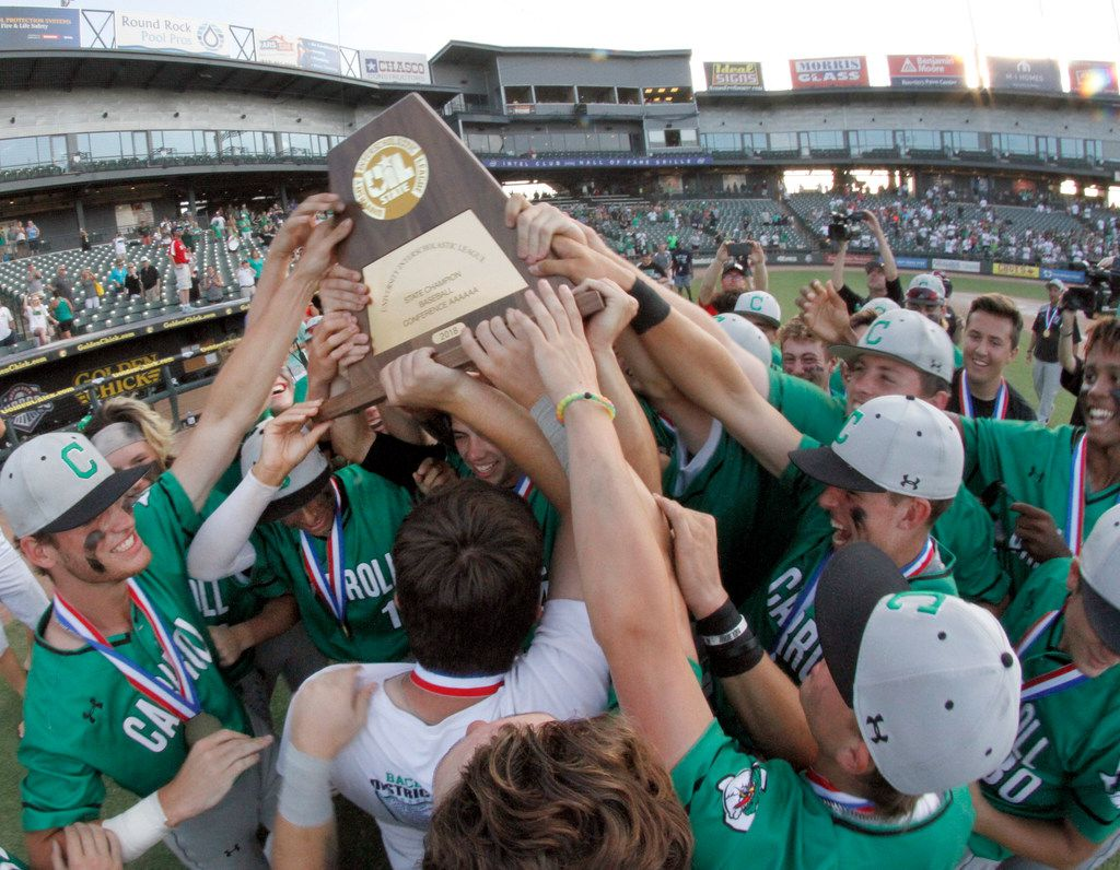 Southlake Carroll won the Class 6A state championship last season. Carroll will play Odessa in the regional semifinals. (Steve Hamm/ Special Contributor)