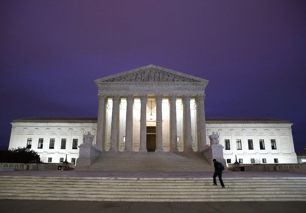 President Donald Trump is expected to announce a Supreme Court nominee Tuesday to replace Justice Antonin Scalia, who passed away last year.  (Mark Wilson/Getty Images)