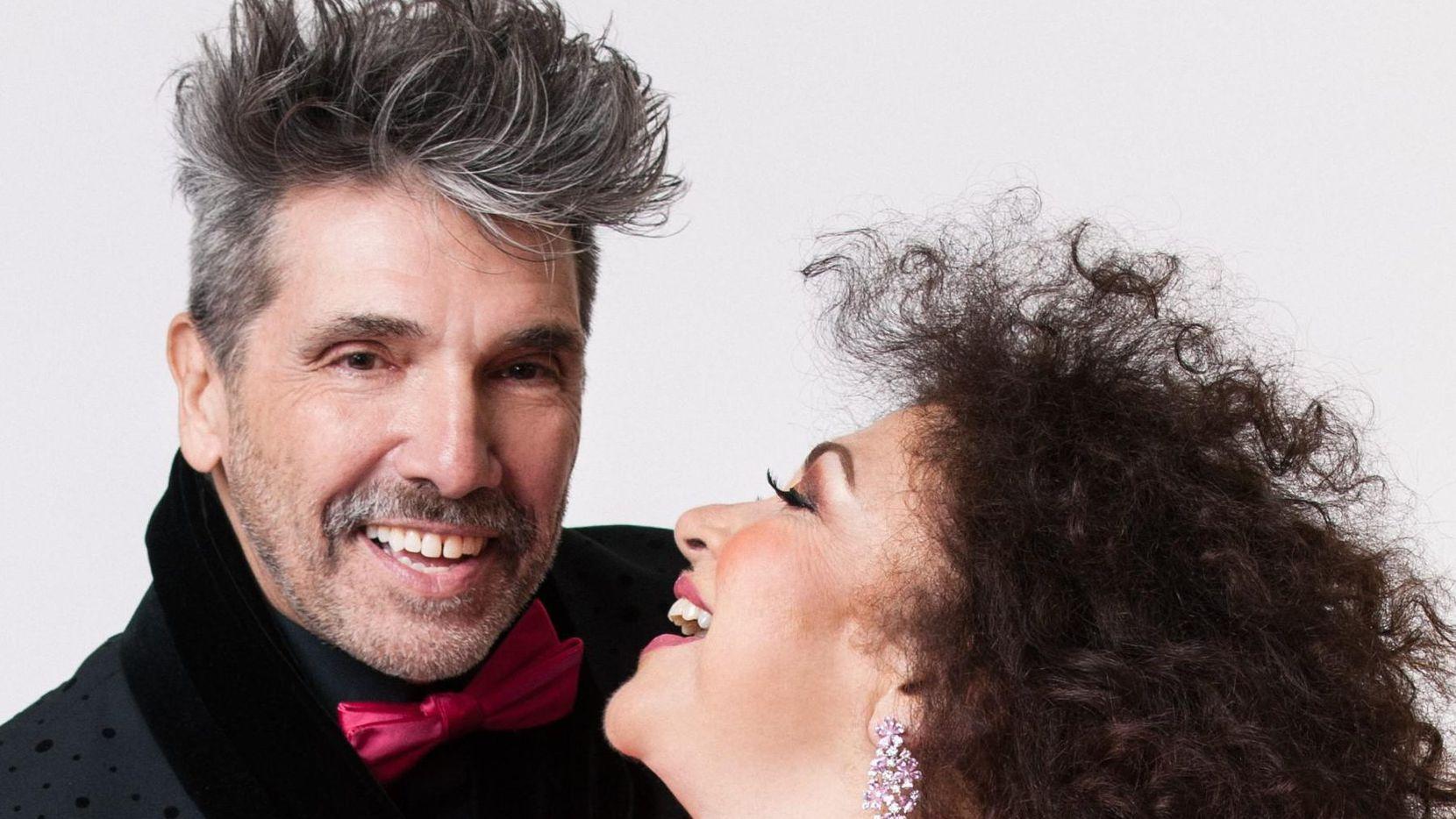 Diego Verdaguer y Amanda Miguel estarán el domingo en House of Blues de Dallas.(CORTESÍA)