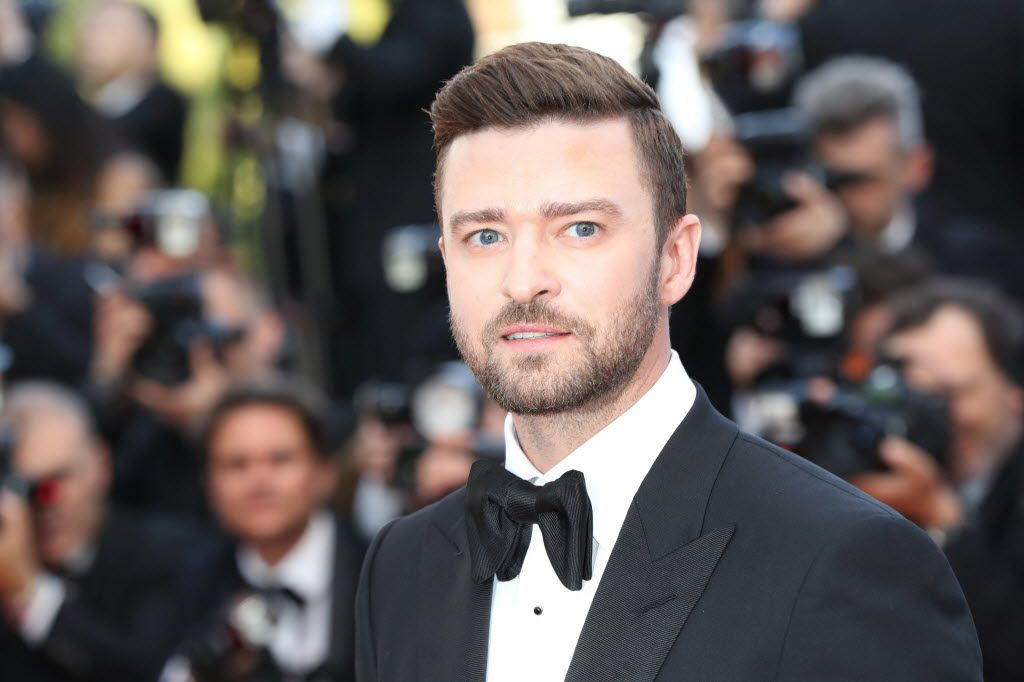 US singer Justin Timberlake poses as he arrives on May 11, 2016 for the opening ceremony of the 69th Cannes Film Festival in Cannes, southern France.  / AFP PHOTO / Valery HACHEVALERY HACHE/AFP/Getty Images