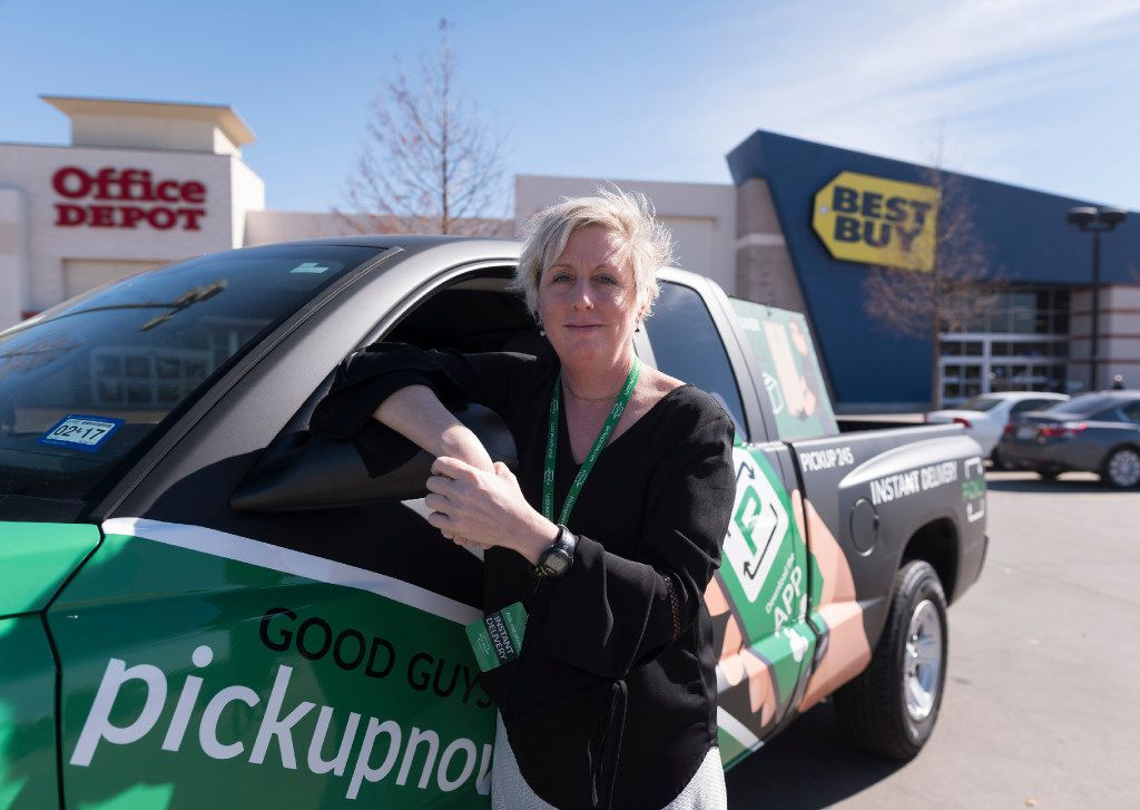 Brenda Stoner is the founder and ceo of Pickup an app based pickup and delivery service.  They pick up from the big box stores like Best Buy and others.   (Rex C. Curry/Special Contributor)