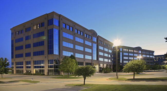One of Worksuites' new locations is in the Legacy Place office complex in West Plano.