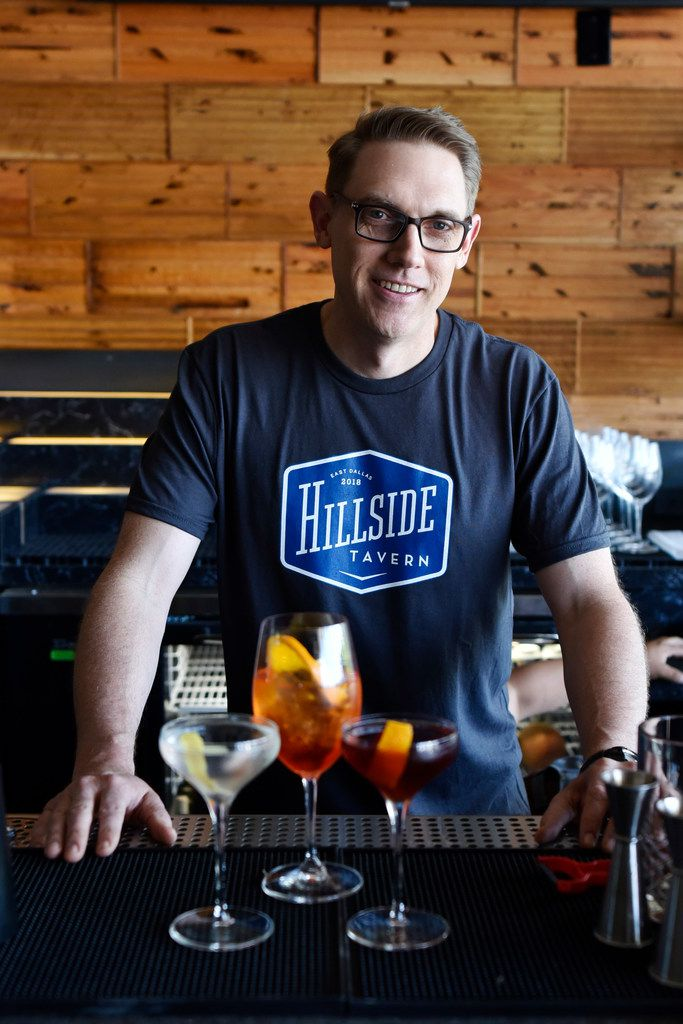 General manager Craig Savadore created the cocktail menu, which includes a Chopin martini, an Aperol spritz and a boulevardier.