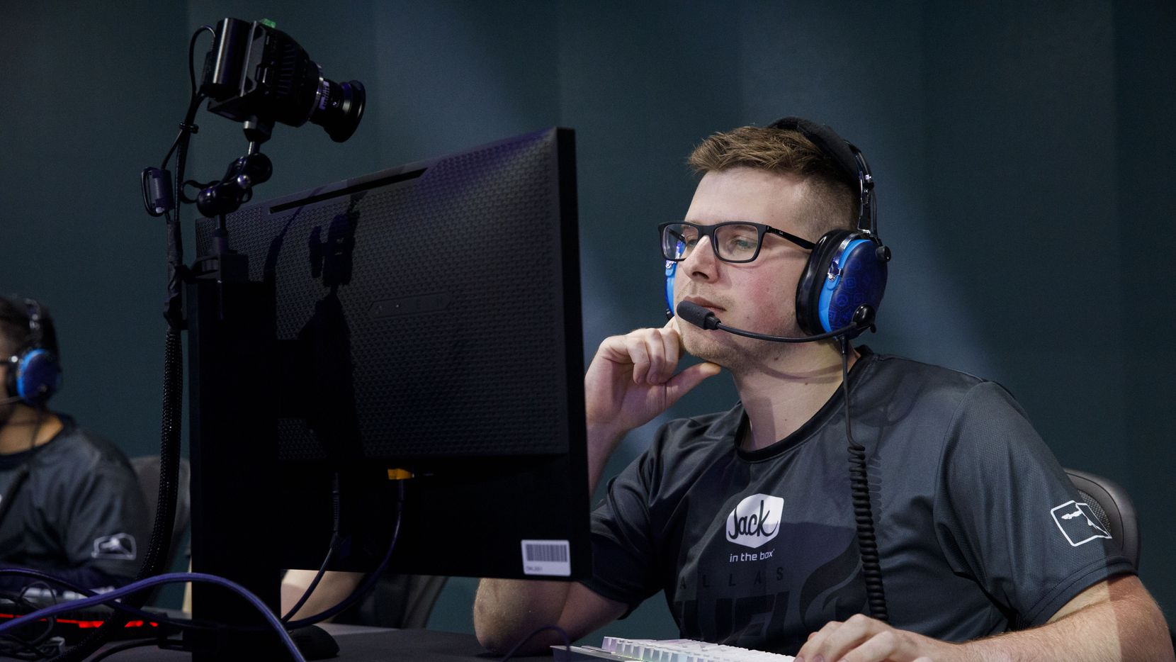 "Dylan ""aKm"" Bignet, pictured here in late June, is expected to return to the lineup this week. He and Taimou have split playing time in two of the past three matches."