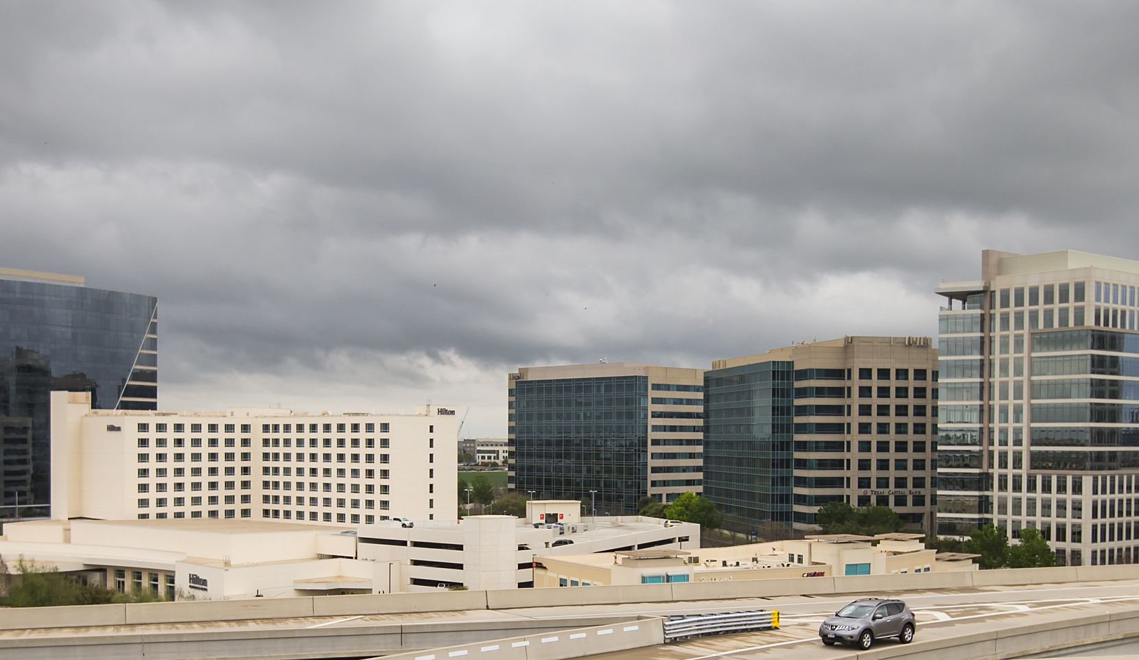 The Granite Park office park on the southeast corner of SH 121 and the Dallas North Tollway was started 20 years ago.