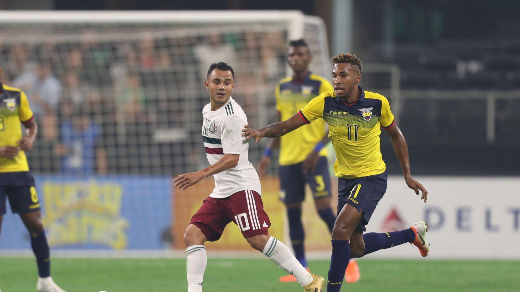 México y Ecuador disputaron un amistoso en Arlington el domingo 9 de junio de 2019. Foto de Omar Vega para Al Día