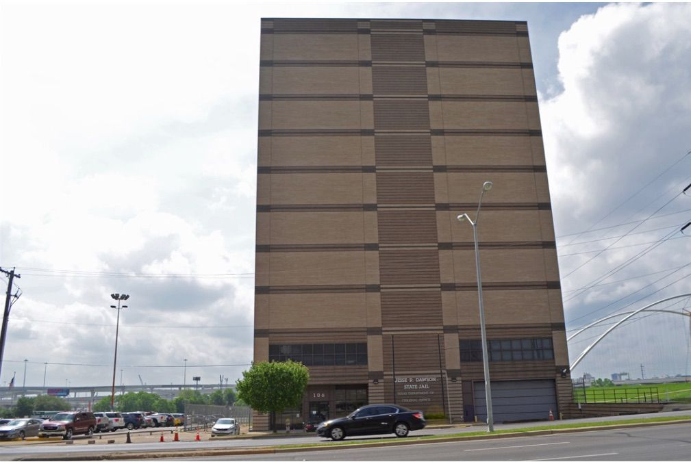 The 10-story Dawson State Jail was built in 1995.