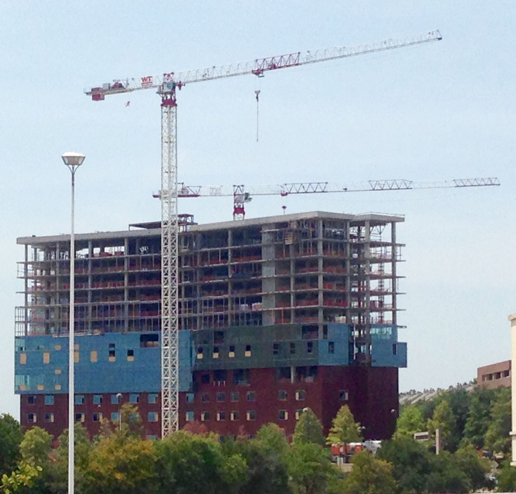 The Ventana senior living project is being built at the southwest corner of U.S. 75 and Northwest Highway.