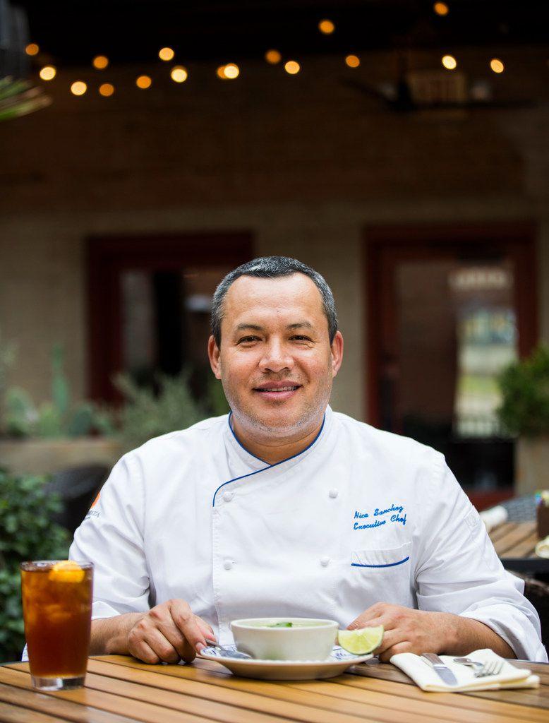 Chef Nico Sanchez of Meso Maya