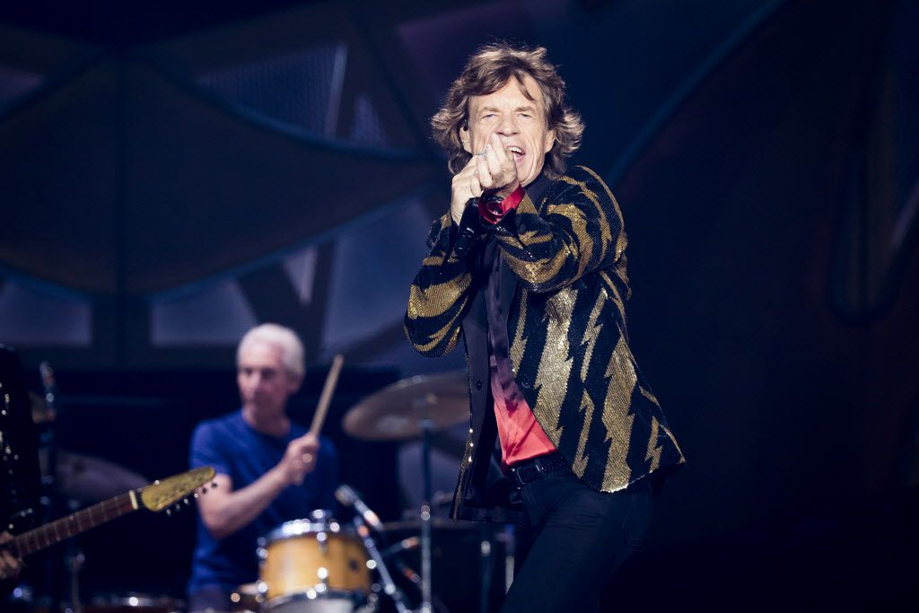 Mick Jagger's bigger-than-life stage persona came through.