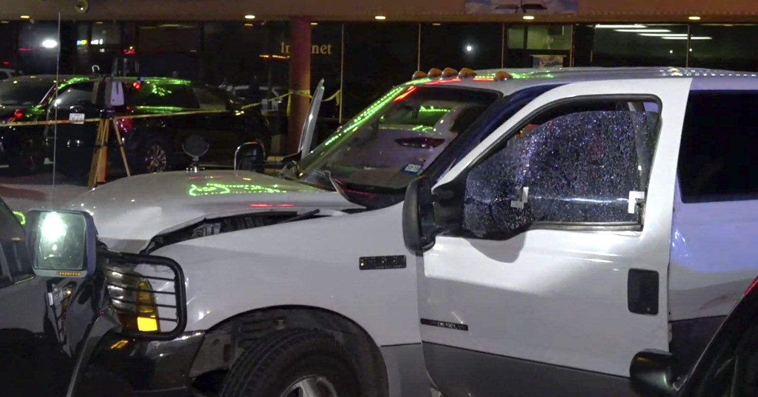 "Juan ""Johnny"" Moreno was driving this pickup, which had been reported stolen in Irving, when he was fatally shot by Farmers Branch police Officer Michael Dunn on June 12 in the parking lot of a Dallas shopping center."
