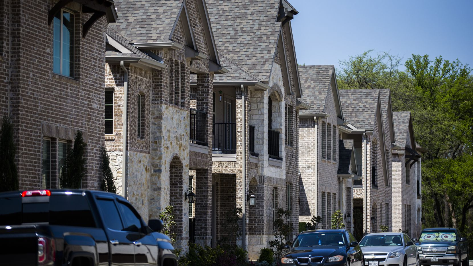 Homes in the Delaware at Heritage Crossing, a new development in old downtown Irving, are bringing new residents to the area.