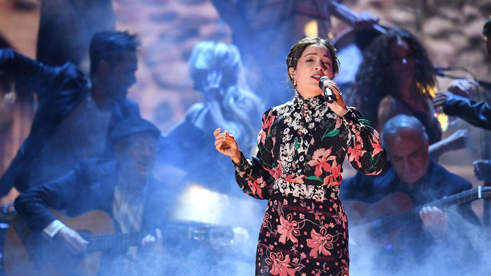 Natalia Lafourcade tendrá un show este miércoles en House of Blues de Dallas. (Getty Images/Kevin Winter)