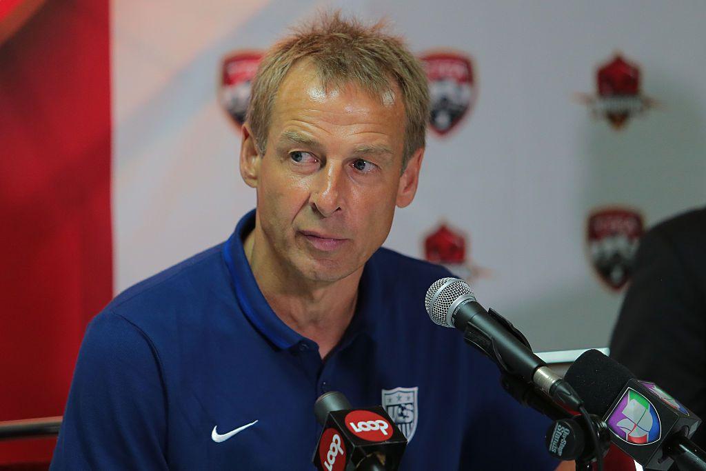Jurgen Klinsmann habló con los medios el lunes, a un día de su partido de semifinales. Foto GETTY IMAGES