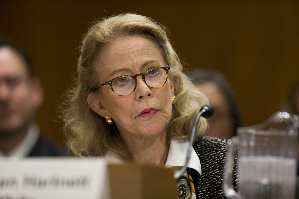 Kathleen Hartnett White was nominated twice to lead the Council on Environmental Quality, but she faced skeptics from both parties.