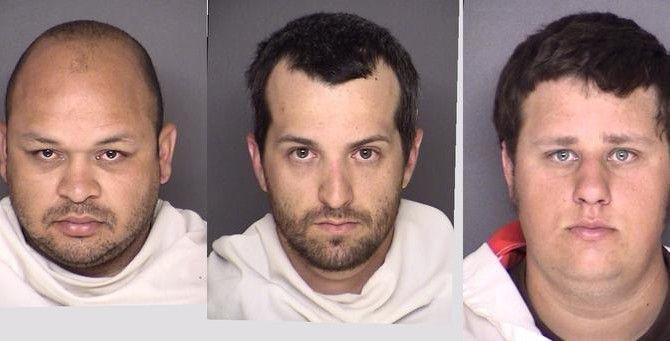 Estos son algunos de los seis bomberos voluntarios de Waxahachie acusados de agredir sexualmente a un compañero y grabar el ataque. (Condado de Ellis/CORTESÍA)
