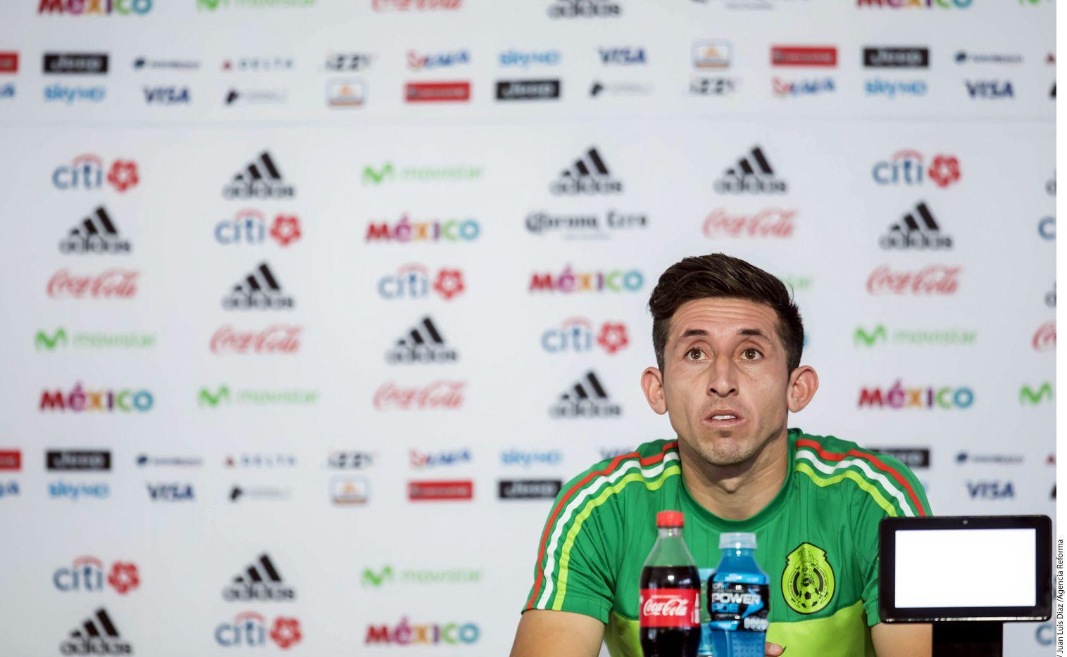 El jugador Héctor Herrera expresó su beneplácito por el fichaje de Lozano con el PSV, sobre todo porque son de la misma cuna del futbol./ AGENCIA REFORMA