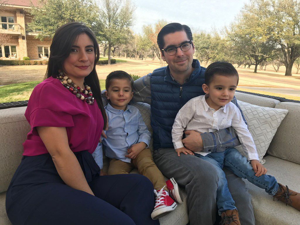 David Salazar, his wife, Brenda, and their children moved from Monterrey to the Dallas area, part of the integration between northern Mexico and North Texas.