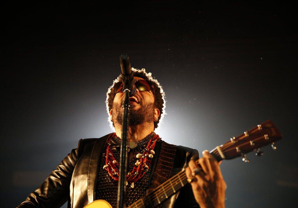 Lenny Kravitz performs at the Allen Event Center on Sept. 16, 2015.