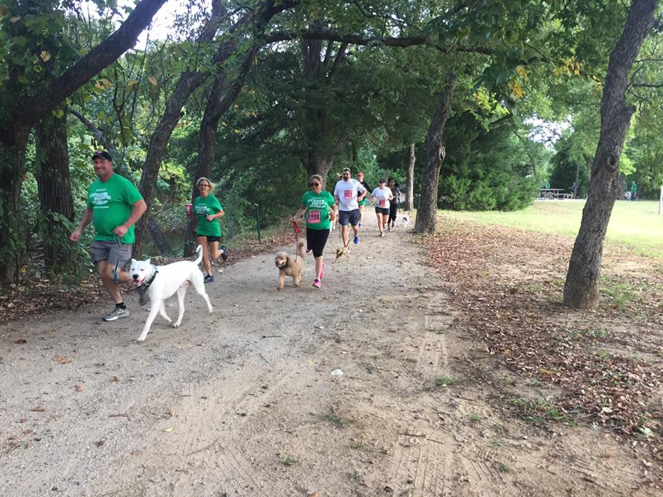 This year's Hungry Hound Hustle on the Trinity Trails in Fort Worth is Saturday