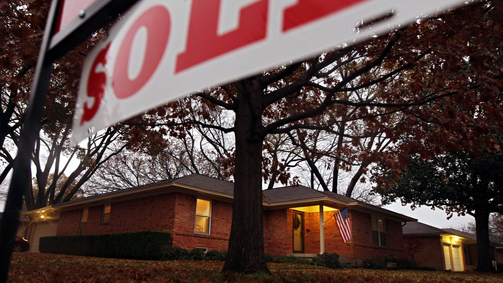 In Southern states, including Texas, only 30 percent of home sales go to first-time buyers.