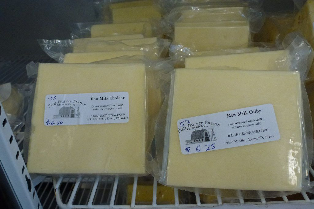 Full Quiver Farms raw milk hard cheeses