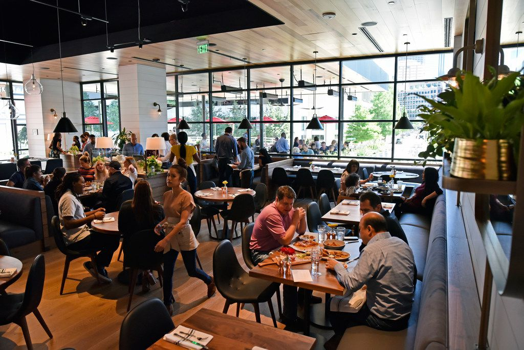 The main dinning area inside the restaurant North Italia in Dallas, Friday April 26, 2019. Ben Torres/Special Contributor