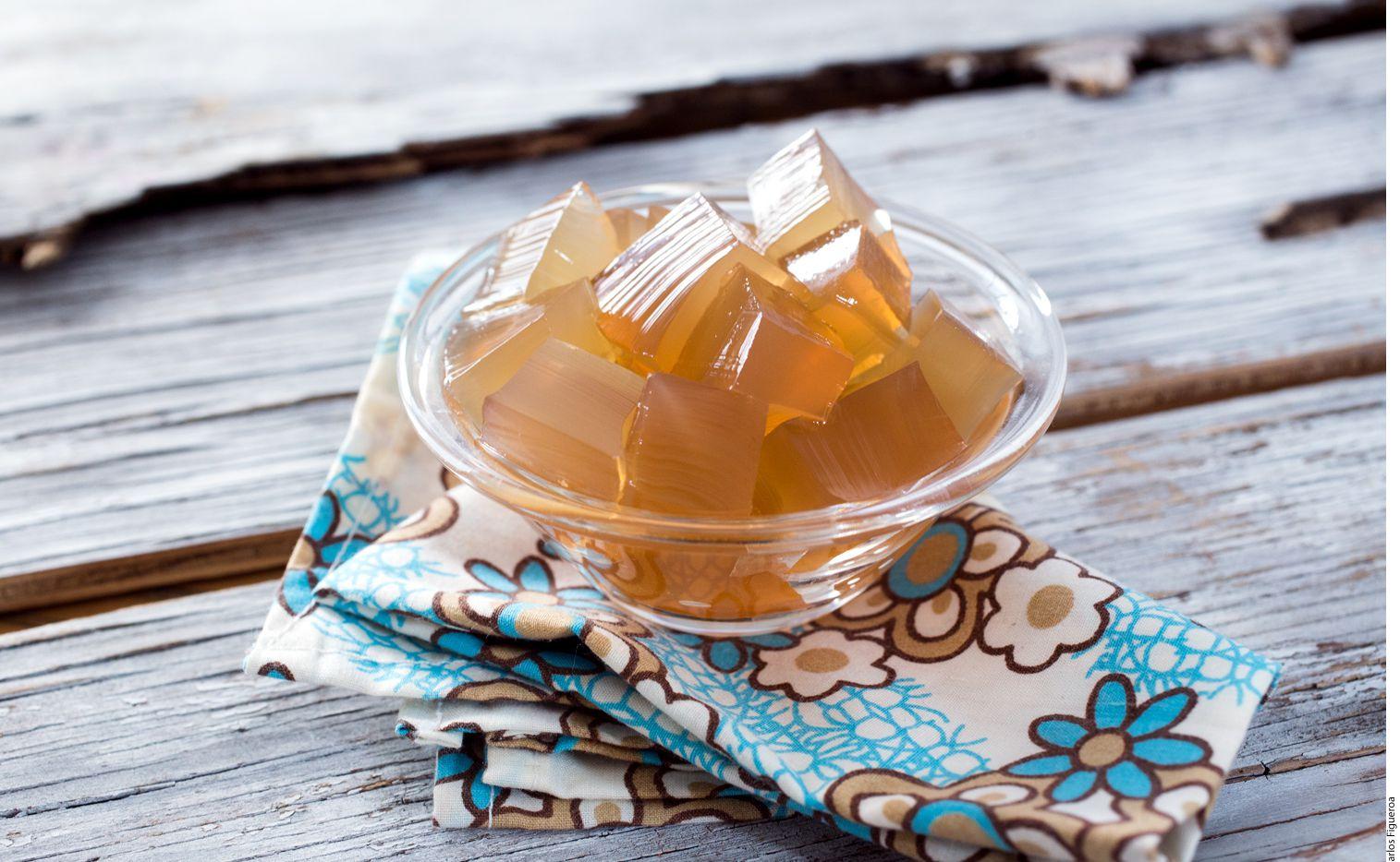 Rica gelatina de té verde. AGENCIA REFORMA.